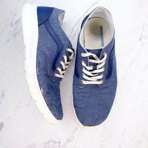 Vans Ultracush Blue Sneakers Shoes 7 Mens 8.5 Wom